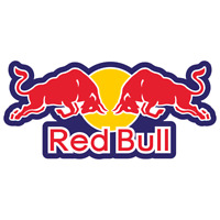 Red Bull Vinyl Sticker Car Truck Window Decal Bumper Laptop Yeti Racing Wall