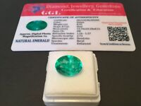 8.35 cts. NO RESERVE Transparent Colombian Emerald Estate Collection Lot MK 731