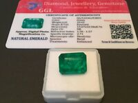10.62 cts. NO RESERVE Transparent Colombian Emerald Estate Collection Lot MK 760