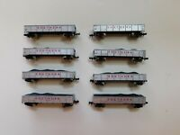 Used N Scale Southern Railway Coal Gondola Set with Coal Load, 8 Car Set