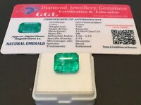 7.02 cts. NO RESERVE Transparent Colombian Emerald Estate Collection Lot 304