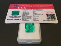 8.57 cts. NO RESERVE Transparent Colombian Emerald Estate Collection Lot 319