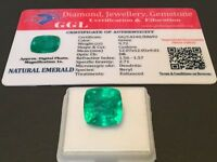 9.72 cts. NO RESERVE Transparent Colombian Emerald Estate Collection Lot 317