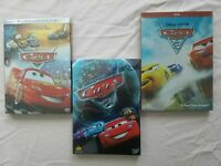 Cars 1-3 DVD Movie Trilogy 1 2 3 Brand New Free USA Shipping!