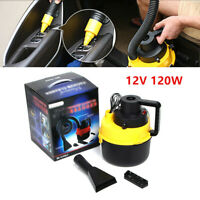 1x Portable Handheld Universal Car Vacuum Cleaner Super Suction 12V/120W PP/PVS