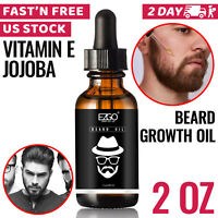 Beard Growth Oil Facial Hair Growth Care Product Mustache Fast Treatment For Men