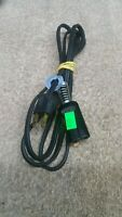 Black Appliance Cord 2 Prong 1/2