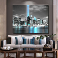 NEW YORK CITY Manhattan Skyline Canvas Print Picture Wall Art Home Room