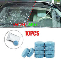 10pcs Auto Car Windshield Glass Washer Window Cleaner Effervescent Tablets Solid