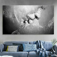 Deep Kiss Premium Abstract Painting Canvas Prints Art Walls Decor Unframed Home