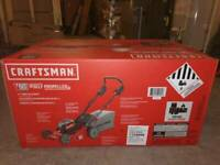 NEW CRAFTSMAN V60 60-Volt Max Self-propelled 21-in Cordless (SPG033971)