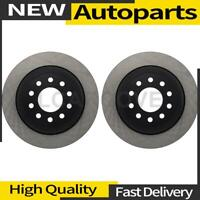 2X Disc Brake Rotor Rear Centric Parts For 2003-2011 Lincoln Town Car