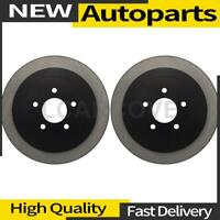 2X Rear Disc Brake Rotor Centric Parts For 2003-2011 Lincoln Town Car