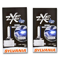 Sylvania SilverStar zXe High Beam Low Beam Headlight Bulb for Fisker Karma xh