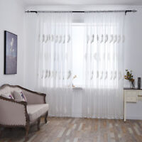 Tulle Curtain Windows Supplies Home Textiles Home Practical Household Yarn O3