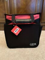 Hair Appliance Product Caddy ULTA BEAUTY Black & Pink Canvas Expandable