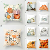 Pumpkin Printed Pillowslip Throw Pillows Cover Home Supplies Pillow Case Cushion