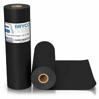 Black Kraft Arts and Crafts Paper Roll - 12 inches by 100 Feet (1200 Inch) - ...
