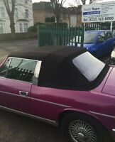 Triumph Stag -Hood Mohair with Plastic Window