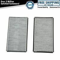 Carbon Style Cabin Air Filters 64316935823 Pair Set for BMW E60 E63 5