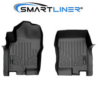 Smartliner Custom Fit Floor Mats Liners 1st Row Black For Nissan Frontier 08-18
