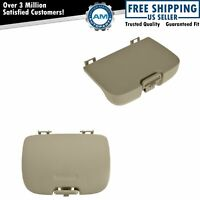 OEM Overhead Console Sunglass Holder Garage Door Cover Kit Parchment for Ford