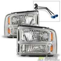 1999-2004 Ford Super Duty F-250 F-350 Truck Excursion Conversion Headlights Lamp