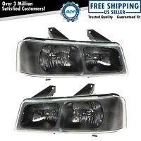 Headlights Headlamps Pair Set of 2 LH & RH for 03-13 Savanna Chevy Express Van