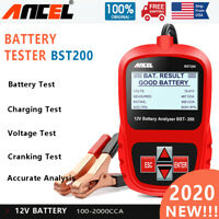 12V Auto Car Battery Tester Digital Vehicle Analyzer 1100CCA ANCEL BST200-US