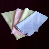 10pcs Microfiber Cleaning Cloth For Camera Phone Tablet Screens Glasses Lens TW
