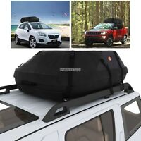 Waterproof Car Auto Roof Top Cargo Carrier Luggage Travel Storage Bag US Stock