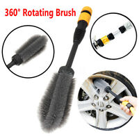 360° High pressure Washing Tire Brush Car Clean Tool by Water Power Wash