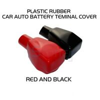 Pair Car Battery Terminal Insulation Connector Cover Cap Red Black Top Quality