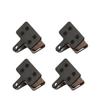 4 Pairs Bicycle Resin Disc Brake Pads For Shimano M355/M375/M395/M415/M416/M445