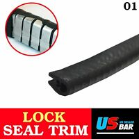 120inch Car Auto Rubber Molding Trim Seal Strip Lock Door Edge Guard All Weather
