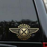 Aircraft Mechanic Decal Sticker Airplane Airframe Powerplant A&P Car Window