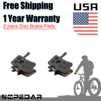 2x FOR Sram Avid BB7 Juicy 3/ 5/ 7 BIKE bicycle brake pads disc semi metallic