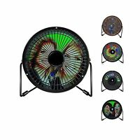 Shihualine Bluetooth LED picture photo Display USB Powered Desk Desktop Fan