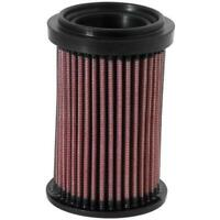 K&N DU-6908 Powersports Air Filter, Ducati 696-1100