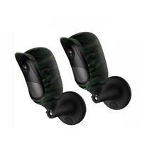 2x Camouflage Protector Case Cover Bracket Strap for Reolink Argus2 Argus Pro