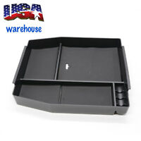 For Ford F150 2015-2018 Car Center Console Armrest Storage Tray Box Black EUE