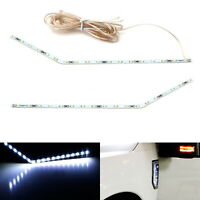 White LED Side Fender Emblem Lighting Kit For 2017-up Ford F250 F350 F450 Truck