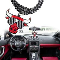 Auto Mirror Hanging Charm Dangling Pendant Necklace-Chicago Bulls Authentic NBA