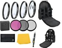 58mm Standard Accessory Kit For Canon EOS T7i T6i T6s T6  T5i SL2 90D 80D 70D