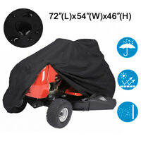 Deluxe Riding Lawn Mower Tractor Cover Yard Garden Protector Fit Deck up to 54