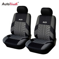 Auto Seat Covers for Car Truck SUV Van Universal Protectors Front Row AUTOYOUTH