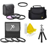 Accessory Kit (Bag-Filters-Macro-Tripod) for Canon SX540 SX530 SX520 SX60 SX50