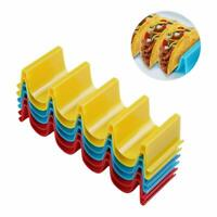6 Pack Taco Holder Stand Tacos Tray Stacks Shell Food Rack Kitchen Home Goods