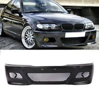 For BMW E46 M3 Style Front Bumper Covers 1999-05 SEDAN Wagon