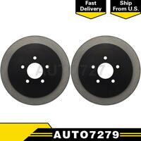 Centric Parts Rear 2PCS Disc Brake Rotor For Lincoln Town Car 2003-2011